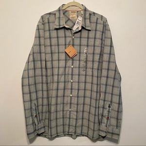 New! Timberland Classic Fit Button Down Shirt